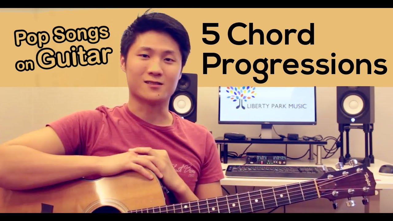 5 Common Guitar Chord Progressions For Pop Music That Everyone