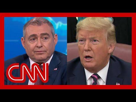 Trump responds to Lev Parnas' accusations