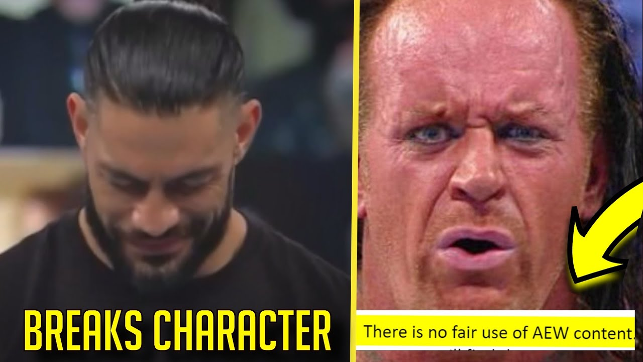 Roman Reigns BREAKS CHARACTER? AEW EXPLOITING The System? Paul Heyman GOES OFF SCRIPT