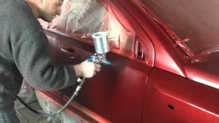 Покрытие лаком после покраски авто
