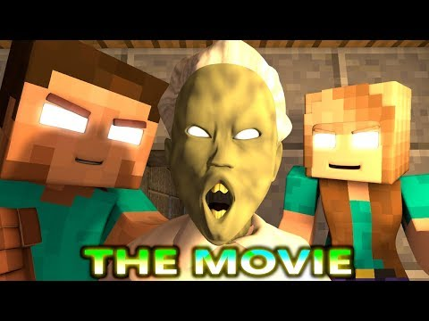 MONSTER SCHOOL MONDAY VS GRANNY CHALLENGE THE MOVIE! (official) Minecraft Horror Game Animation