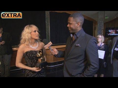 Carrie Underwood on Grammys Performance Dress