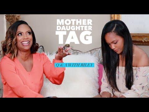 Uptown Angela - So Cute! Kandi & Daughter Riley Play Tag