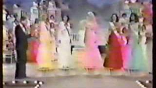 Miss USA 1978- Farewell Walk & Crowning Moment