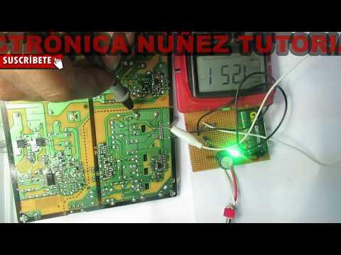 PANTALLA LG NO ENCIENDE SISTEMA BLOQUEADO  vídeo 3 de 5 electrónica nuñez tutoriales
