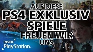 Die Top PS4 Exklusiv-Spiele 2018