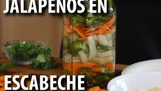 Pickled Jalapeños And Carrots | JalapeÑos En Escabeche Recipe