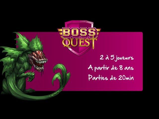 Vidéorègle Boss Quest - Editions Spéciale et Collector