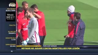 Neymar no jugará contra Montpellier