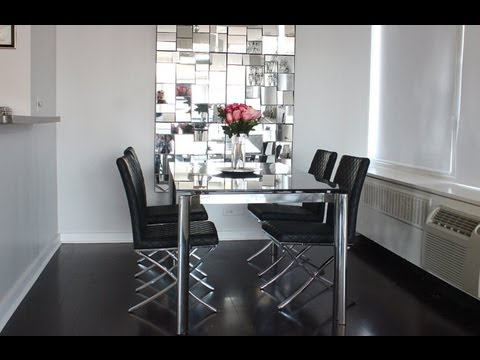 Apartment Tour: Dining Table, Rug && Barstools!