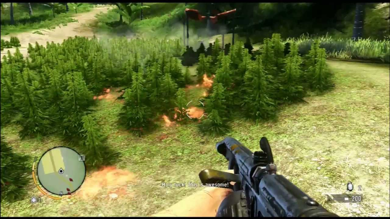 Far Cry 3 Weed Flamethrower Mission Pt 1 Youtube