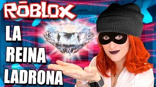 SUPER LADRONA! I TAKE ALL THE DIAMONDS!! 💎💎 ROBLOX - Rob The Jewelry Store Obby