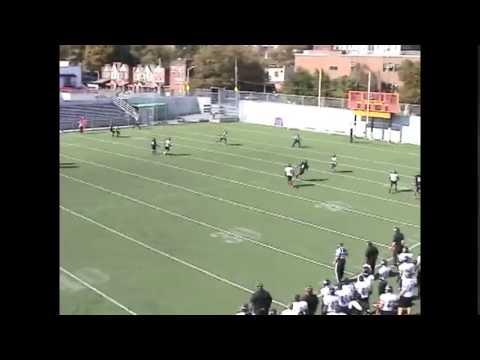 Dorian Polk JUCO Football Highlights CB #22 Erie Community College
