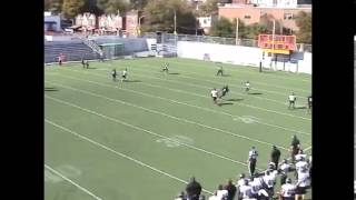 dorian polk juco football highlights cb 22 erie community college