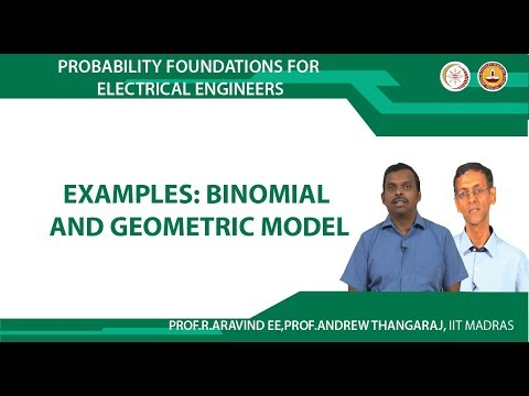 Examples: Binomial and Geometric Model