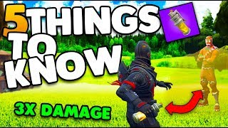 Do Stink Bombs Stack Damage? | 5 Things You Might Not Know! | Fortnite Battle Royale (Tips & Tricks)