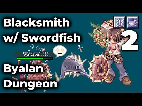 The Grind - Blacksmith With Swordfish Armor At Byalan Dungeon 4 - Ragnarok Zero