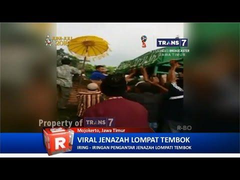 TRANS7 JATIM - Viral!! Jenasah Lompat Pagar