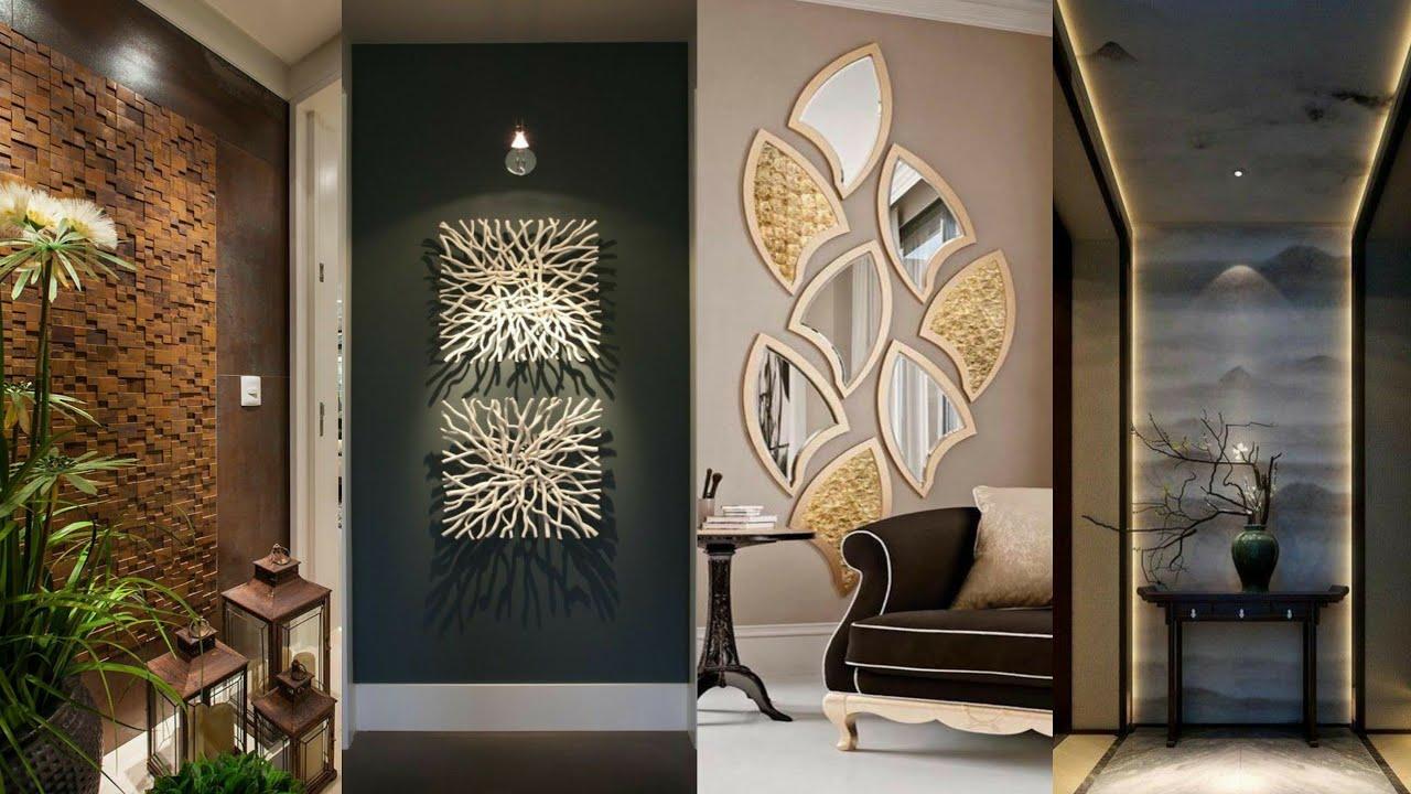 Living Room Wall Decor Design Catalogue, Wall Interior Design Living Room