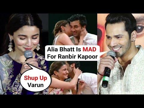 Varun Dhawan Reaction On Alia And Ranbir Zee Cine Awards Performance | Kalank Trailer Launch