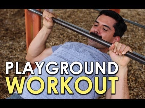 Get a Full-Body Workout at the Playground