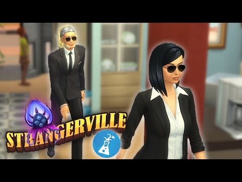 Los Sims 4 StrangerVille (Misterio) - CAP 01 - AGENTES SECRETOS INVADEN MI CASA!