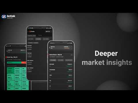 New Kotak Stock Trading app with exciting features for faster trading | Kotak Securities
