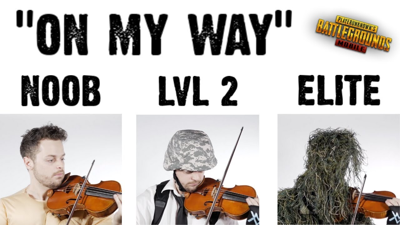 "PUBG Mobile Noob to Elite: ""On My Way"" Cover - Alan Walker"