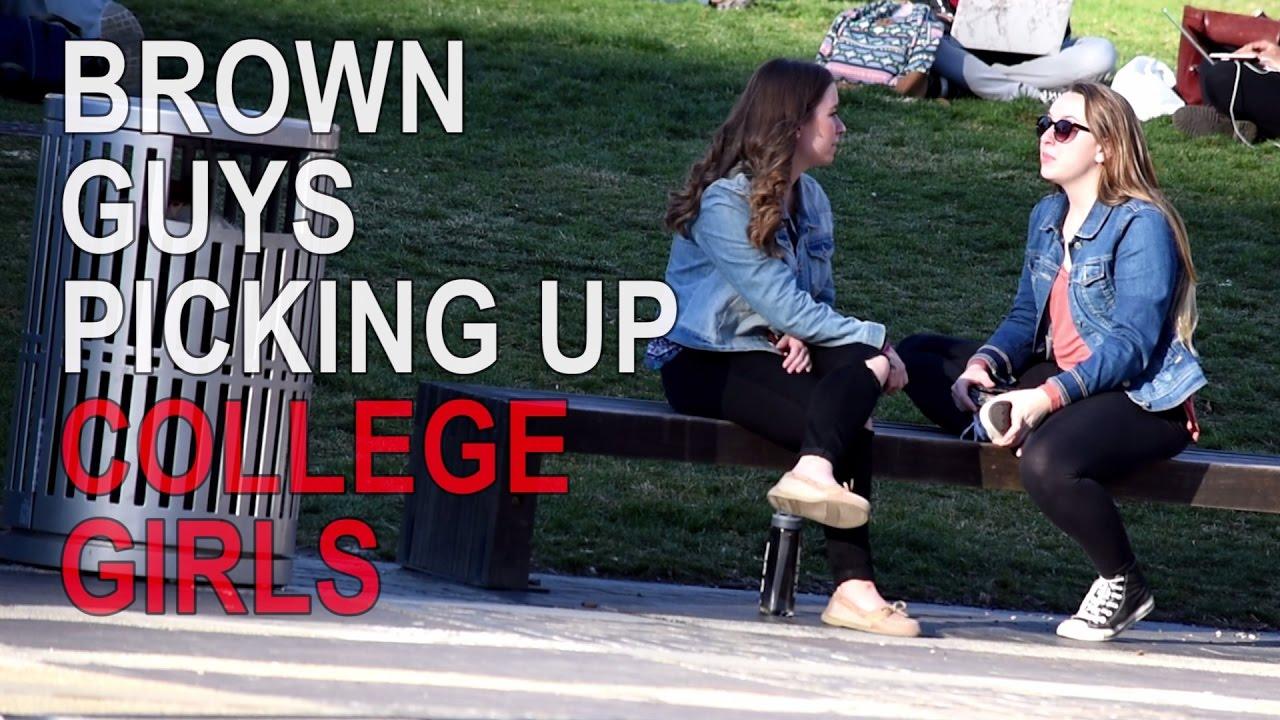 Brown Guys Picking Up College Girls