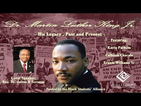 Dr Martin Luther King Jr Memorial Program 2018