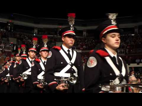 Ramp Entrance onto Stage Buckeye Battle Cry  Ohio State Marching Band Concert 11 12 2015