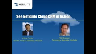 Demo Webinar see NetSuites Cloud CRM solution in action HD