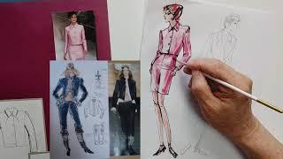패션일러스트[ Fashion Illustration ]…