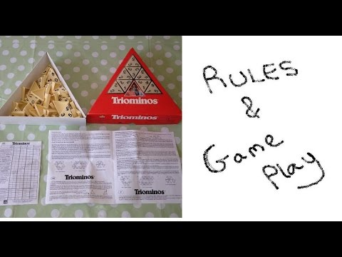 Triominos Goliath Games How To Play Rules Instructions Set Up