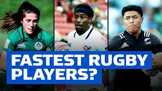 The Fastest Players in Rugby? | Sevens Speedsters | Part 2