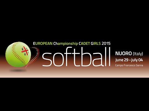 2015 EChCG - Cadette Girls - Czech Republic vs Russia (semifinal)