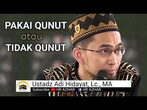 Sholat Subuh Tanpa Qunut, Sah Tidak?.
