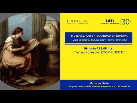 """Charla """"Mujeres, Artes, y Sociedad en Europa: Vida cotidiana, naturaleza y nuevo feminismo"""""""