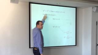Solving Cubic Equations (4 of 5: How to Solve Depressed Cubics) - by Gavin Sinclair