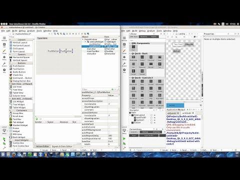 UI-User Interfaces] Qt Widgets vs Qt Quick Controls 2