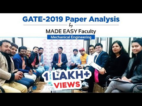 GATE 2019 Paper Analysis by MADE EASY Faculty | Mechanical Engineering Mp3