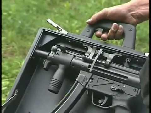 H&K Special Cased MP5/40mm Grenade Pistol