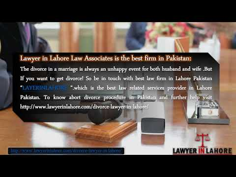 Divorce Lawyer in Lahore