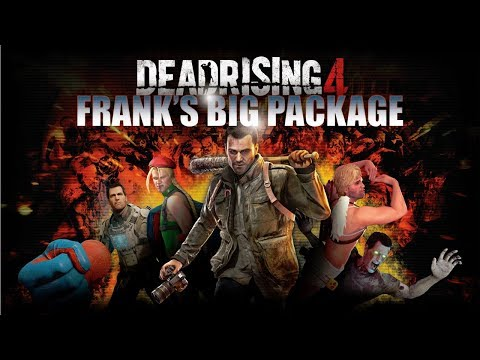 Capcom Announces Dead Rising 4-FRANK's BIG PACKAGE coming to PS4 this Holiday Season