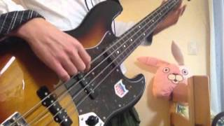 Maximum the Hormone Koino Megaraba 【Bass Cover】 マキシマムザホル...