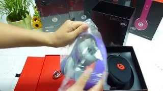 Monster Beats By Dr Dre Purple  Solo HD Headphones