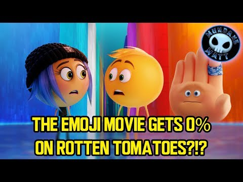 THE EMOJI MOVIE gets 0% on Rotten Tomatoes?!?