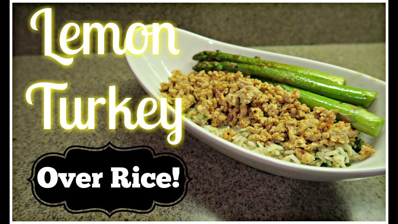 Lemon Turkey Recipe My Fit Foods
