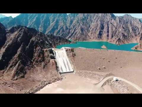Day trip in Hatta, United Arab Emirates Drone 4K