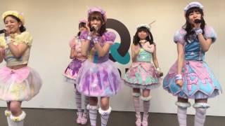 大阪もりのみやキューズモールBASEで開催された、わーすた3rdシングル「J...